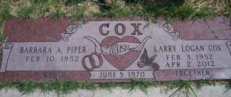 COX, LARRY LOGAN - Parker County, Texas | LARRY LOGAN COX - Texas Gravestone Photos