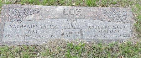 COX, NATHANIEL TATUM - Parker County, Texas | NATHANIEL TATUM COX - Texas Gravestone Photos