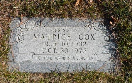 COX, OLLIE MAURICE - Parker County, Texas | OLLIE MAURICE COX - Texas Gravestone Photos