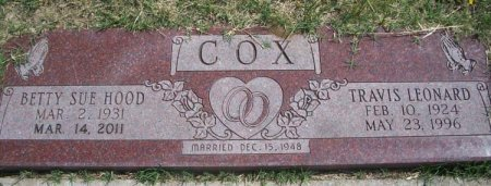 COX, BETTY SUE - Parker County, Texas | BETTY SUE COX - Texas Gravestone Photos