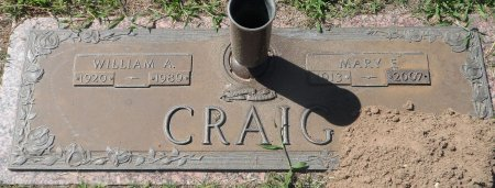 ANDERSON CRAIG, MARY F. - Parker County, Texas | MARY F. ANDERSON CRAIG - Texas Gravestone Photos