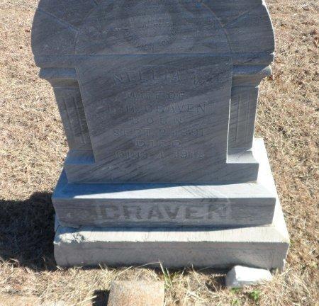 CRAVEN, NELLIA V. - Parker County, Texas | NELLIA V. CRAVEN - Texas Gravestone Photos