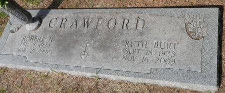 BURT CRAWFORD, RUTH - Parker County, Texas | RUTH BURT CRAWFORD - Texas Gravestone Photos
