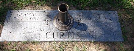JOHNSON CURTIS, JESSIE JEWELL - Parker County, Texas | JESSIE JEWELL JOHNSON CURTIS - Texas Gravestone Photos