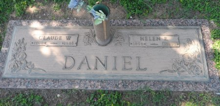 DANIEL, CLAUDE WASHINGTON - Parker County, Texas | CLAUDE WASHINGTON DANIEL - Texas Gravestone Photos
