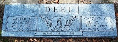 DEEL, WALTER LEE - Parker County, Texas   WALTER LEE DEEL - Texas Gravestone Photos