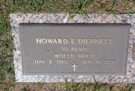 DIEHNELT (VETERAN  WWII), HOWARD E. - Parker County, Texas   HOWARD E. DIEHNELT (VETERAN  WWII) - Texas Gravestone Photos