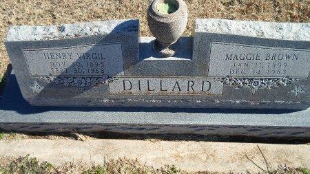 DILLARD, MAGGIE ELIZABETH - Parker County, Texas | MAGGIE ELIZABETH DILLARD - Texas Gravestone Photos