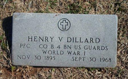 DILLARD (VETERAN WWI), HENRY VIRGIL - Parker County, Texas | HENRY VIRGIL DILLARD (VETERAN WWI) - Texas Gravestone Photos