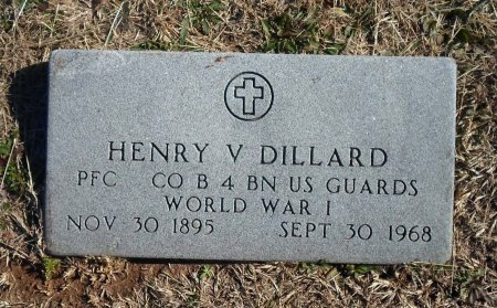 DILLARD (VETERAN WWI), HENRY V. - Parker County, Texas   HENRY V. DILLARD (VETERAN WWI) - Texas Gravestone Photos