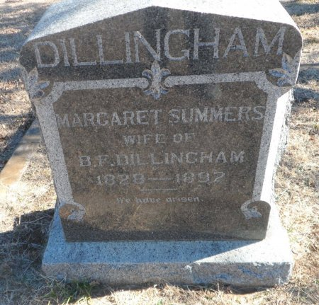 DILLINGHAM, MARGARET MALINDA - Parker County, Texas | MARGARET MALINDA DILLINGHAM - Texas Gravestone Photos