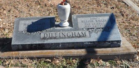 FREEMAN DILLINGHAM, MARTHA ELLEN - Parker County, Texas | MARTHA ELLEN FREEMAN DILLINGHAM - Texas Gravestone Photos