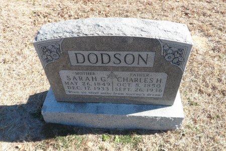 DODSON, SARAH GEMIMA - Parker County, Texas | SARAH GEMIMA DODSON - Texas Gravestone Photos