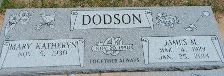 DODSON, MARY KATHERYN - Parker County, Texas | MARY KATHERYN DODSON - Texas Gravestone Photos