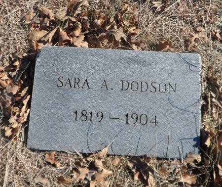 DODSON, SARAH ANN - Parker County, Texas | SARAH ANN DODSON - Texas Gravestone Photos