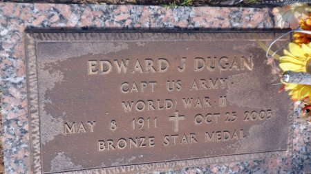 DUGAN (VETERAN  WWII), EDWARD J. - Parker County, Texas | EDWARD J. DUGAN (VETERAN  WWII) - Texas Gravestone Photos
