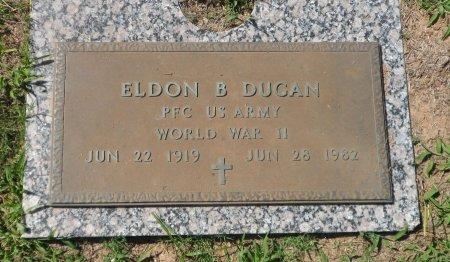 DUGAN (VETERAN WWII), ELDON BRITON - Parker County, Texas | ELDON BRITON DUGAN (VETERAN WWII) - Texas Gravestone Photos