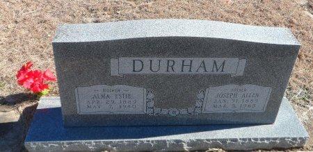 CRAVEN DURHAM, ALMA ESTIE - Parker County, Texas   ALMA ESTIE CRAVEN DURHAM - Texas Gravestone Photos