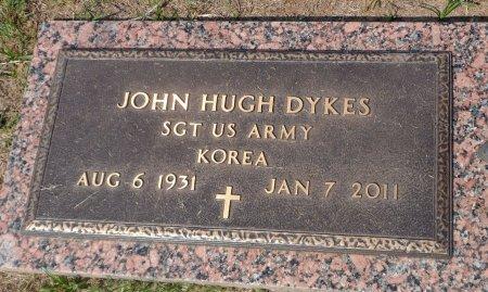 DYKES (VETERAN KOR), JOHN HUGH - Parker County, Texas | JOHN HUGH DYKES (VETERAN KOR) - Texas Gravestone Photos