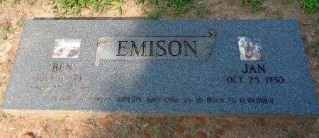 EMISON, BEN RAY - Parker County, Texas   BEN RAY EMISON - Texas Gravestone Photos