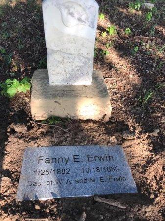 ERWIN, FANNY E. - Parker County, Texas   FANNY E. ERWIN - Texas Gravestone Photos