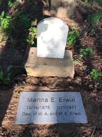 ERWIN, MARTHA E. - Parker County, Texas   MARTHA E. ERWIN - Texas Gravestone Photos