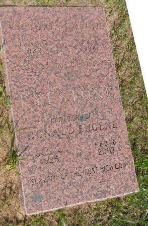EYESTONE, DONALD EUGENE - Parker County, Texas | DONALD EUGENE EYESTONE - Texas Gravestone Photos