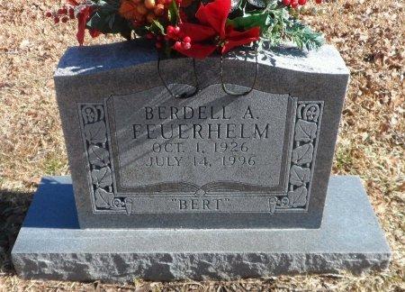FEUERHELM, BERDELL ARCHIE - Parker County, Texas | BERDELL ARCHIE FEUERHELM - Texas Gravestone Photos