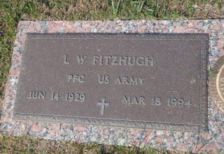 FITZHUGH (VETERAN), LAWRENCE WILLIAM - Parker County, Texas   LAWRENCE WILLIAM FITZHUGH (VETERAN) - Texas Gravestone Photos