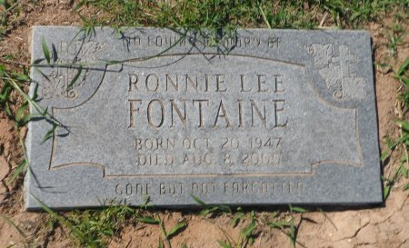 FONTAINE, RONNIE LEE - Parker County, Texas | RONNIE LEE FONTAINE - Texas Gravestone Photos