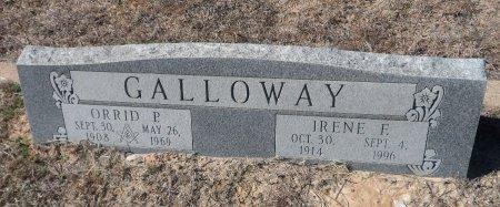 GALLOWAY, ORRID PATRICK - Parker County, Texas | ORRID PATRICK GALLOWAY - Texas Gravestone Photos