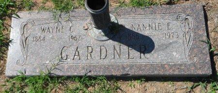 GARDNER, WAYNE CLEVELAND - Parker County, Texas | WAYNE CLEVELAND GARDNER - Texas Gravestone Photos