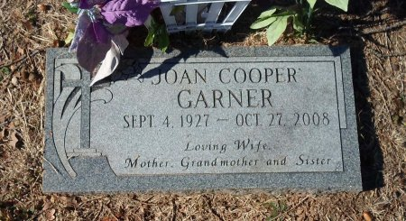 COOPER GARNER, JOAN - Parker County, Texas   JOAN COOPER GARNER - Texas Gravestone Photos