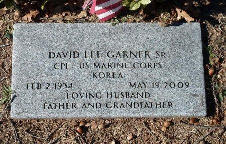 GARNER, SR (VETERAN KOR), DAVID LEE - Parker County, Texas | DAVID LEE GARNER, SR (VETERAN KOR) - Texas Gravestone Photos