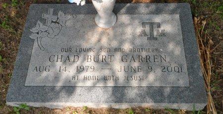GARREN, CHAD BURT - Parker County, Texas | CHAD BURT GARREN - Texas Gravestone Photos
