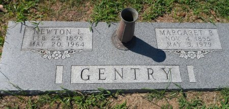 BROWN GENTRY, MARGARET - Parker County, Texas | MARGARET BROWN GENTRY - Texas Gravestone Photos