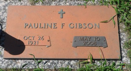 HUNTER GIBSON, PAULINE FRANCES - Parker County, Texas | PAULINE FRANCES HUNTER GIBSON - Texas Gravestone Photos