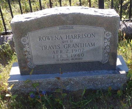 GRANTHAM, ROWENA - Parker County, Texas | ROWENA GRANTHAM - Texas Gravestone Photos