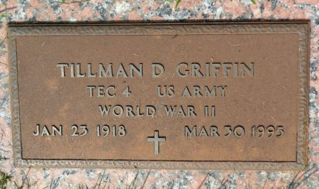 GRIFFIN (VETERAN  WWII), TILLMAN DIAL - Parker County, Texas | TILLMAN DIAL GRIFFIN (VETERAN  WWII) - Texas Gravestone Photos