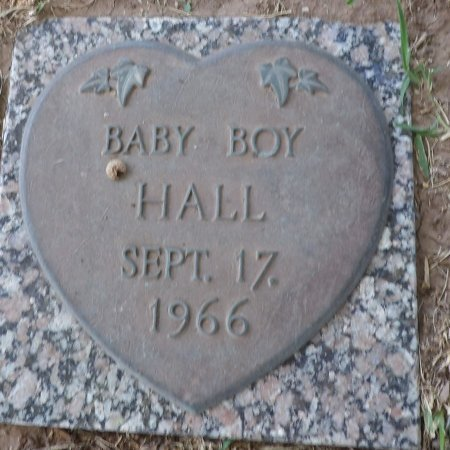 HALL, BABY BOY - Parker County, Texas | BABY BOY HALL - Texas Gravestone Photos