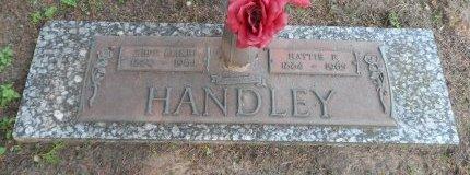 HANDLEY, HATTIE FRANCIS - Parker County, Texas | HATTIE FRANCIS HANDLEY - Texas Gravestone Photos