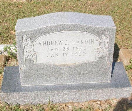 HARDIN, ANDREW J. - Parker County, Texas | ANDREW J. HARDIN - Texas Gravestone Photos