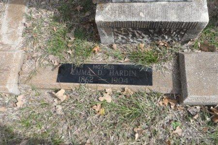 HARDIN, EMALINE DRUPINA - Parker County, Texas   EMALINE DRUPINA HARDIN - Texas Gravestone Photos