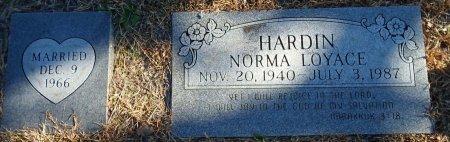 COCKROFT HARDIN, NORMA LOYACE - Parker County, Texas | NORMA LOYACE COCKROFT HARDIN - Texas Gravestone Photos