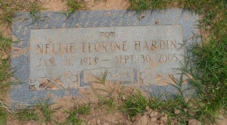 HARDIN, NELLIE FLORINE - Parker County, Texas   NELLIE FLORINE HARDIN - Texas Gravestone Photos