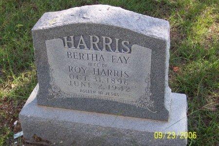 HARRIS, BERTHA FAY - Parker County, Texas | BERTHA FAY HARRIS - Texas Gravestone Photos