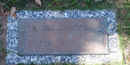 EDWARDS HATFIELD, MAEFIELD - Parker County, Texas   MAEFIELD EDWARDS HATFIELD - Texas Gravestone Photos