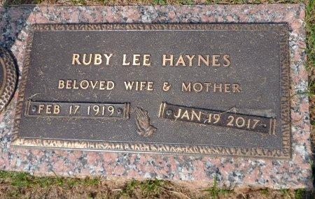 HAYNES, RUBY LEE - Parker County, Texas | RUBY LEE HAYNES - Texas Gravestone Photos