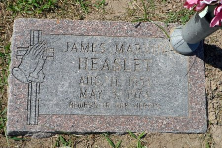 HEASLET, JAMES MARVIN - Parker County, Texas | JAMES MARVIN HEASLET - Texas Gravestone Photos