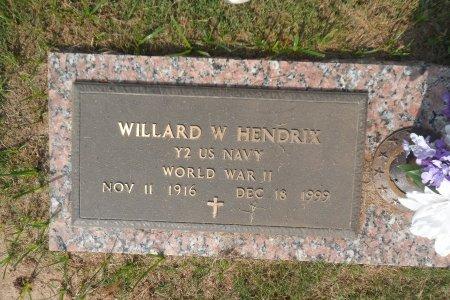 HENDRIX (VETERAN  WWII), WILLARD WOODROW - Parker County, Texas | WILLARD WOODROW HENDRIX (VETERAN  WWII) - Texas Gravestone Photos